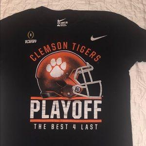 Clemson tigers Nike t shirt college football black